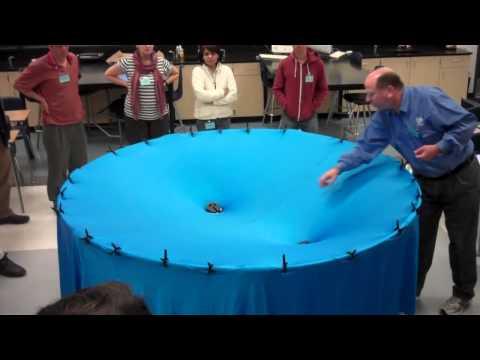 Видео: визуализация гравитации