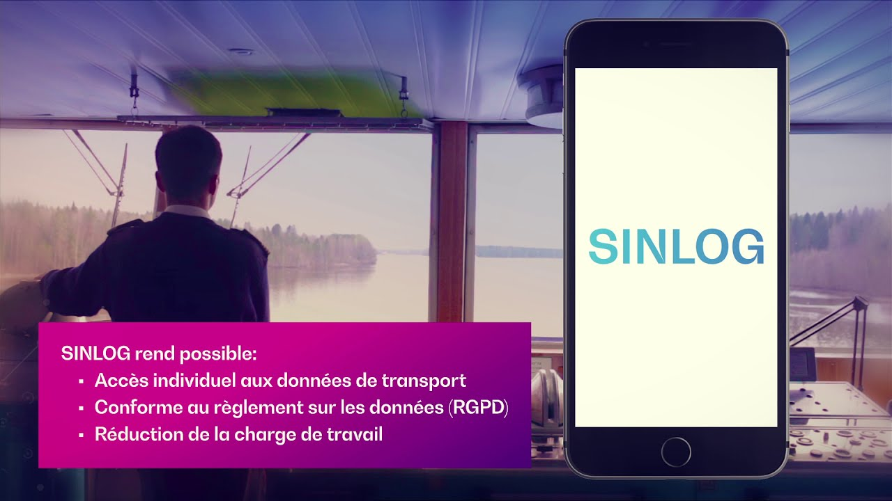 SINLOG –Digital Shipping Documents (French)