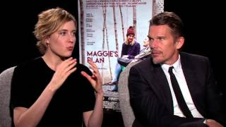 Nonton Ethan Hawke and Greta Gerwig Talk Maggie's Plan Film Subtitle Indonesia Streaming Movie Download
