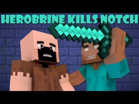 If Herobrine Killed Notch In Minecraft