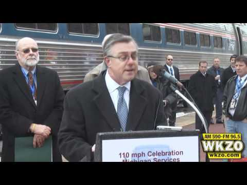 Kalamazoo Amtrak makes history