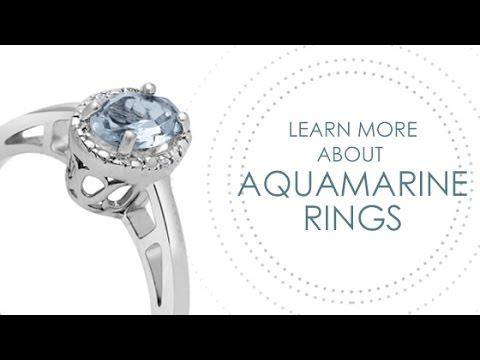 Aquamarine Rings by SuperJeweler - SuperJeweler.com