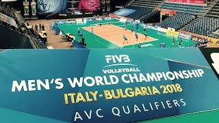 2018 Men's Volleyball World Championships - AVC Qualification Tournament.