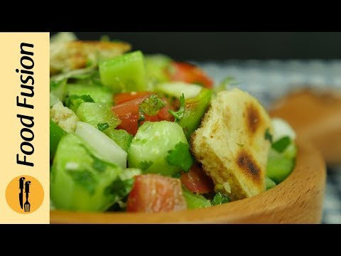 Fattoush Salad Recipe by Food Fusion