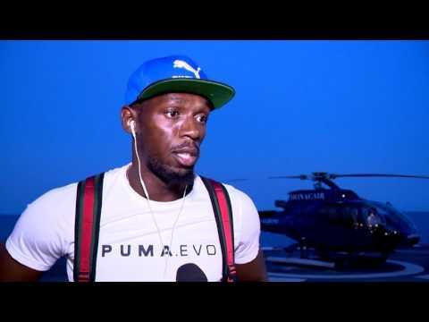 Usain Bolt arrive en Principauté pour le meeting Herculis