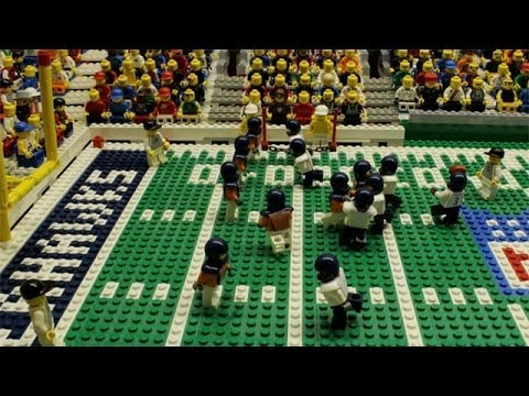 What would the 2014 Super Bowl look like if it had been played by Legos?