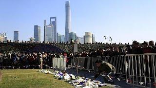 Fuga desordenada provoca mais de 30 mortos em Xangai