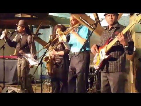 Boney Fields & The Bone's Project @ Banana Peel Ruislede 9 May 2016