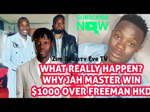 What Really Happen Why Jahmaster Hello mwari nash tv Win $1000 Over Freeman Yet Fans know freeman