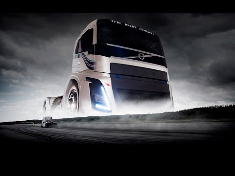 Volvo's Iron Knight breaks speed record