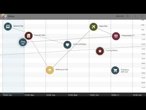Video of Visual Calendar for Tablets