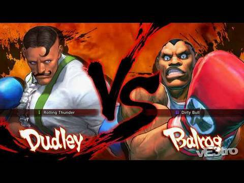 Super Street Fighter IV (4) - Dudley Vs Balrog Match (HD 720p)