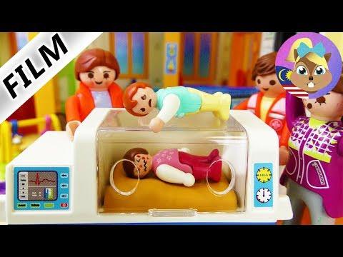 Filem Playmobil | HARI PERTAMA EMMA KAT TADIKA - Budak kena masuk hospital | Filem kanak-kanak
