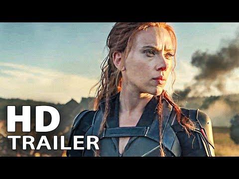 BLACK WIDOW Trailer Deutsch German (2021)