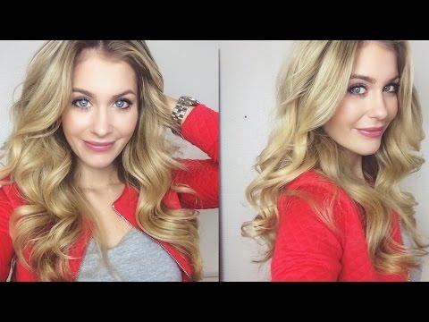 Haare: Große Wellen / Locken - BELLA-Tipp