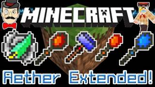 Minecraft Mods - Aether Extended Mod New RARE ITEMS&Artifacts! Tidecaller, Gale Feather&More!