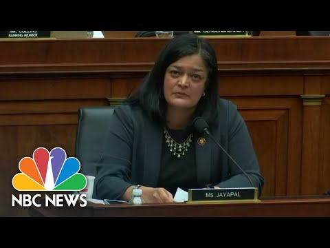 Rep. Jayapal Tearfully Reveals Child Came Out As Gender Nonbinary | NBC News
