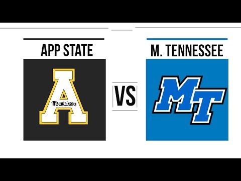 2018 New Orleans Bowl Middle Tennessee vs Appalachian State Full Game Highlights