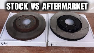 Do Directional Brake Rotors Prevent Brake Fade?Temperature Recording Device - http://amzn.to/2seoTKzHow To Replace Pads & Rotors - https://youtu.be/ml4WyK_piRMSubscribe for new videos every Wednesday! - https://goo.gl/VZstk7Do directional vaned brake rotors provide better brake cooling? In this video I test new brake rotors on my Honda S2000 to find out. I only changed out the front brake rotors, everything else is exactly the same (same brake pads front and rear, same brake rotors in the rear). Equipment Used:Thermometer Data Logger SDL200 - http://amzn.to/2seoTKzMagnetic Thermal Probe - http://amzn.to/2seBKMBQuickJack - https://www.quickjack.com/http://amzn.to/2sfGmXV (5,000 lb in video)Silicon Paste For Brake Pins - http://amzn.to/2tWbHvGMolykote M77 - http://amzn.to/2sZgNriAluminum Anti-Sieze - http://amzn.to/2sg4CcjCopper Anti-Sieze - http://amzn.to/2sfTxI8Brake Pads - http://bit.ly/2tn0WFOFront Brake Rotors - http://bit.ly/2sfprEZRear Brake Rotors - http://amzn.to/2sZS9XuEngineering Explained is a participant in the Amazon Services LLC Associates Program, an affiliate advertising program designed to provide a means for sites to earn advertising fees by advertising and linking to Amazon.com. Don't forget to check out my other pages below!Facebook: http://www.facebook.com/engineeringexplainedOfficial Website: http://www.howdoesacarwork.comTwitter: http://www.twitter.com/jasonfenske13Instagram: http://www.instagram.com/engineeringexplainedCar Throttle: https://www.carthrottle.com/user/engineeringexplainedEE Extra: https://www.youtube.com/channel/UCsrY4q8xGPJQbQ8HPQZn6iANEW VIDEO EVERY WEDNESDAY!