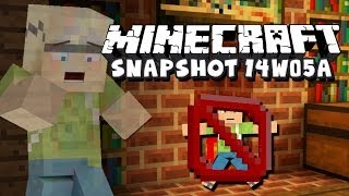 Minecraft Snapshot 14w05a - Spectator Mode&Invisible Block!