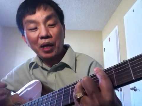tu hoc dan guitar: chu am Cm- & Dm