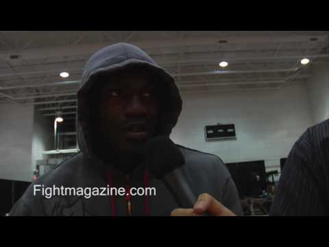 Cheick Kongo Talks win over Paul Bentello on UFC on Versus