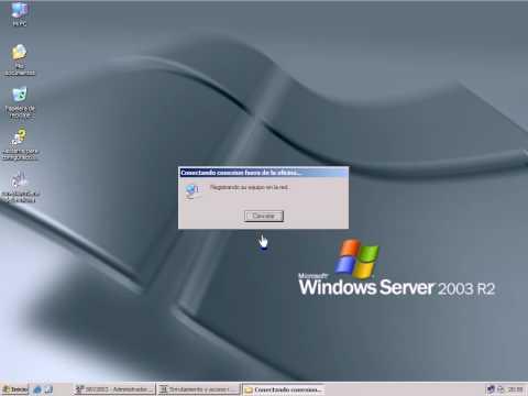 Crear servidor VPN en Windows Server 2003