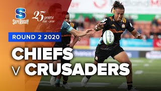 Chiefs v Crusaders Rd.2 2020 Super rugby video highlights | Super Rugby Video Highlights