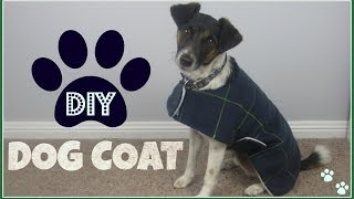 {Step by Step Sewing} DIY Dog Coat - YouTube