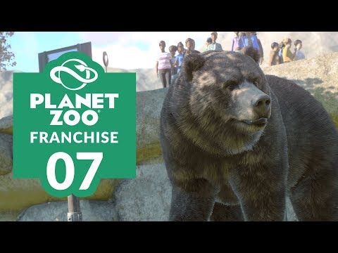 PLANET ZOO | EP. 07 - BEAR NECESSITIES (Franchise Mode Lets Play)