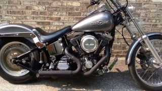 5. 1991 Harley Davidson Softail Custom FXSTC
