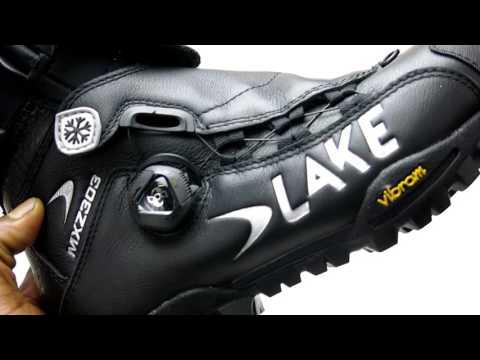 Lake MXZ303 Winter Mountain Bike Shoe Review by Brands Cycle