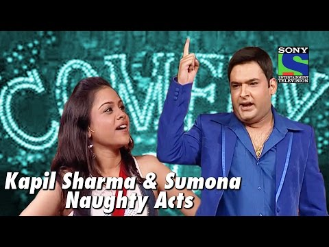Download Kapil Sharma and Sumona's Naughty Acts | Comedy Circus HD Mp4 3GP Video and MP3