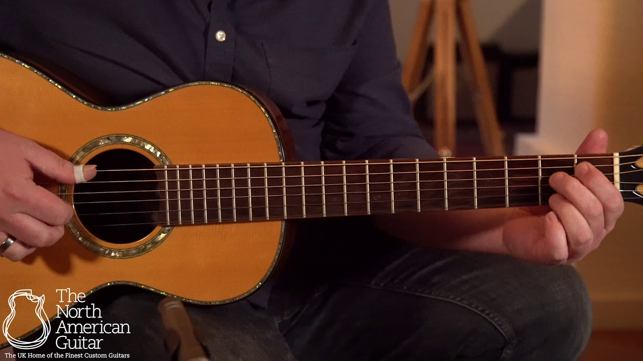 Dave King Parlour Acoustic Guitar Played By Ben Smith (Part One)