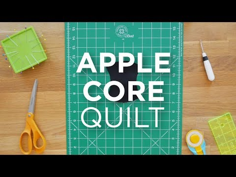 Quilt Snips Mini Tutorial - Apple Core
