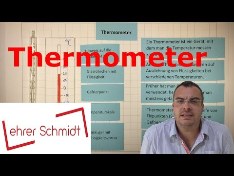 Thermometer | Sachunterricht | Physik | Wärmelehre | Lehrerschmidt