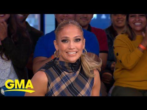Jennifer Lopez talks learning to pole dance from Cardi B l GMA