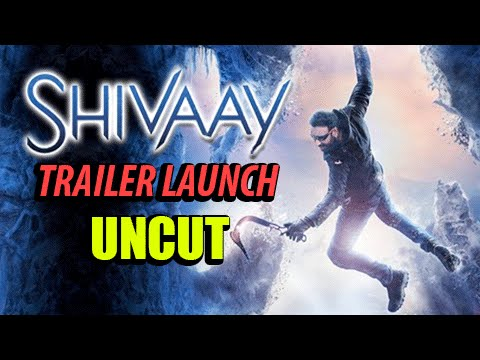 Shivaay Official Trailer Launch   Ajay Devgn   Event Uncut