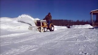9. Farmitecture Presents Cub Cadet 149 Snow Thrower Fun!