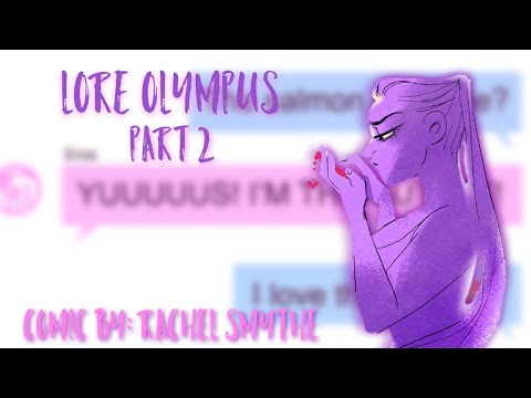 【 Lore Olympus WEBTOON Dub 】Part 2 (Episodes 3-4)