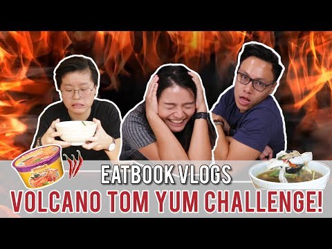 FINISH THIS TOM YUM IN 15 MINS AND IT IS FREE! - JJ THAI | Eatbook Vlogs | EP 38
