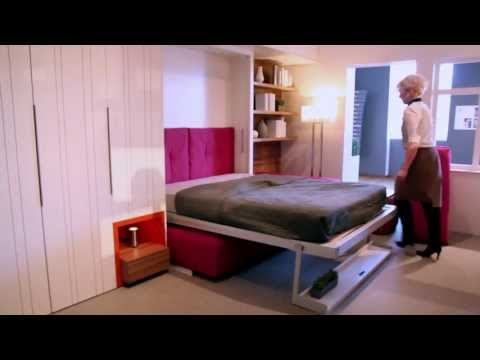 resource furniture - Welcome to Launchpad - the amazing 325 square foot transforming micro-apartment built by Clei and Resource Furniture. The micro-unit was part of the groundbr...