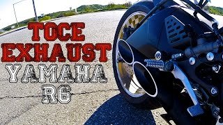 10. TOCE Exhaust - 2014 Yamaha R6