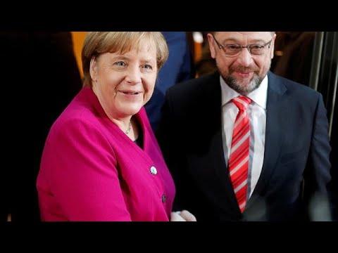 Γερμανία: Ξεκίνησαν οι διερευνητικές επαφές CDU-SPD