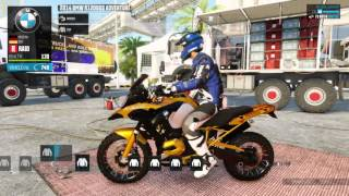 6. The Crew Wild Run BMW R1200GS Adventure Raid Spec Customization & Test Drive