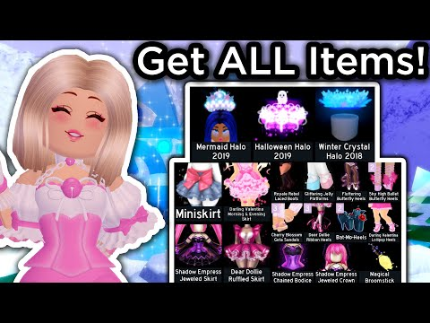How To Get ALL ITEMS In A FEW DAYS! // Get Rich Fast Guide On Royale High!