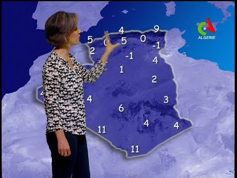 Retrouvez la météo du mardi 01 janvier 2019 sur Canal Algérie