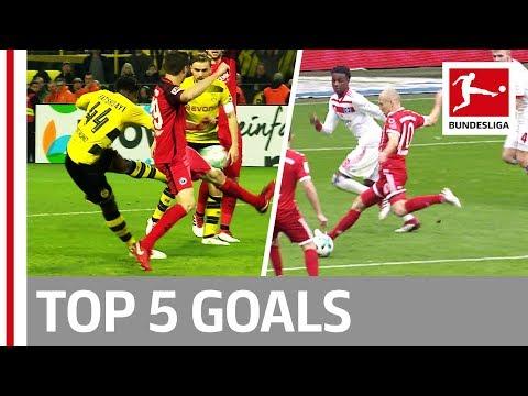 العرب اليوم - شاهد: أبرز 5 أهداف في الجولة الـ26