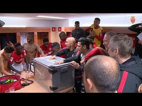 AS Monaco 6-0 EA Guingamp : joie de vestiaire