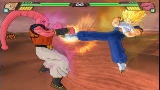 All throw animations from Budokai Tenkaichi 3